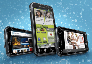smarphone android murah motorola defi plus