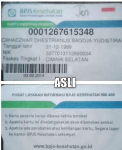 ciri-ciri kartu bpjs asli