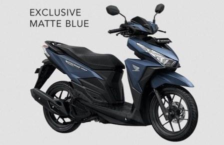 honda vario 150 exclusive matte blue