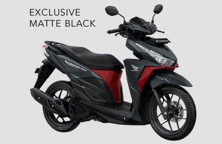 honda vario 150 exclusive matte black