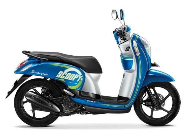 new honda scoopy esp sporty urban blue