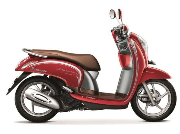 New Honda scoopy esp stylish vogue red