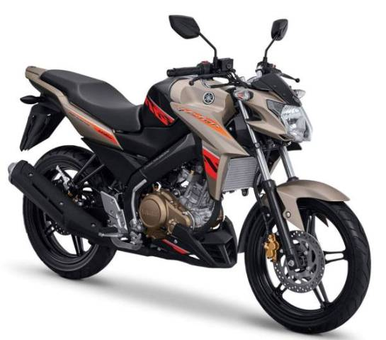 New Yamaha Vixion Advance 2016 Hustle Gold orange