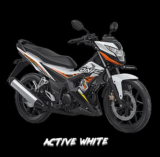 new honda sonic 150r 2017 active white