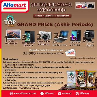 promo gelegar hadiah top coffee