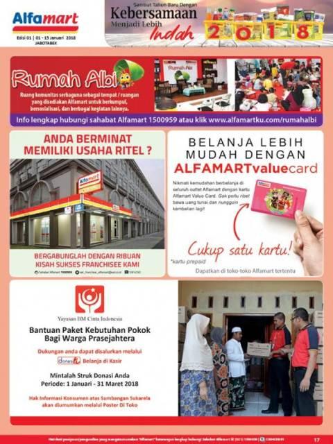 katalog promo Alfamart 1 - 15 Januari 2018