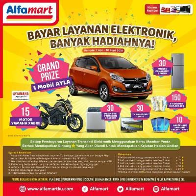 undian layanan transaksi elektronik alfamart